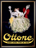 Ottone, Argentina Olive Oil Framed Giclee Print by Achille Luciano Mauzan