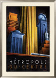 Metropole du Centre Prints by Michael L. Kungl