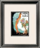 Josephine Baker: Casino De Paris Prints by  Zig (Louis Gaudin)