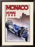 Monaco, May 1948 Prints by Geo Ham