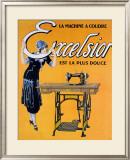 Excelsior est la Plus Douce Framed Giclee Print