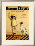 Biscuits Brun Art by George Redon