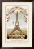 Universal Exposition Fair, Paris, c.1889 Framed Giclee Print