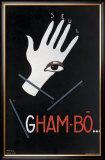 Gham Bo Framed Giclee Print by Paul Colin