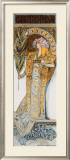 Mucha Nouveau Bernhardt Gismonda Framed Giclee Print by Alphonse Mucha
