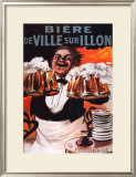 Biere De Ville Sur Illon Prints by Francisco Tamagno