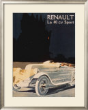 Renault La 40 Cv Sport Print
