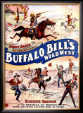 Buffalo Bill's Wild West, Johnny Baker and Vincente Orepezo Framed Giclee Print