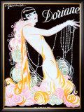 Dorianne Framed Giclee Print by Charles Gesmar