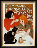 Compagnie des Chocolats et des Thes Poster by Théophile Alexandre Steinlen