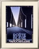 La Route Bleue Framed Giclee Print