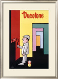 Ducotone Poster Framed Giclee Print by Raymond Savignac