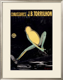 Chaussures Framed Giclee Print by Leonetto Cappiello