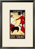 Dog Show Framed Giclee Print