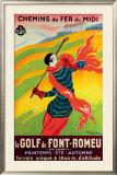 Le Gold de Font-Romeu Framed Giclee Print by Leonetto Cappiello