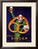 Bretzels Singer Print by  Lotti