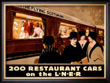 Restaurant Cars Framed Giclee Print by Frank Mason