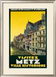 Visitez Metz Framed Giclee Print by H. De Renancourt