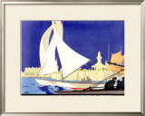 Lowestoft Framed Giclee Print by Frank Newbould