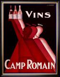 Le Vins de Camp Romain Prints