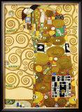 Fulfillment, Stoclet Frieze, c.1909 Posters by Gustav Klimt