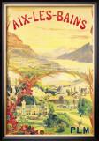 Aix-Les-Bains Prints by L. Gadoud