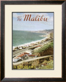 The Malibu: A Way of Life Framed Giclee Print