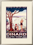 French State Railway, Travel to Dinard Framed Giclee Print