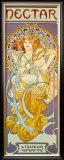Nectar Framed Giclee Print by Alphonse Mucha
