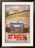 Monaco Grand Prix, 1979 Posters by Alain GIAMPAOLI