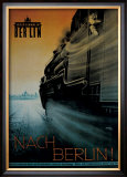 Berlin Framed Giclee Print by Rosen