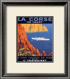 Corse En Yacht Poster by  Hoock