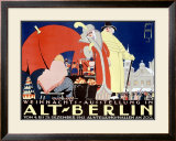 Alt-Berlin Framed Giclee Print by Ernst Deutsch