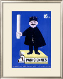 Parisiennes Cigarettes Framed Giclee Print by Raymond Savignac
