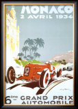 6th Grand Prix Automobile, Monaco, 1934 Prints by Geo Ham