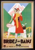 Bries Les Bains Poster by Leon Benigni