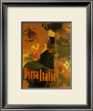 Birra Italia, c.1906 Posters by Adolfo Hohenstein