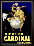 Biere du Cardinal, Fribourg Framed Giclee Print by Achille Luciano Mauzan