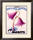 Palace Hotel, St. Moritz Framed Giclee Print