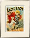 Cacao Lacte Poster by Lucien Lefevre