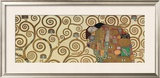 Fulfillment, Stoclet Frieze, c.1909 (detail) Print by Gustav Klimt
