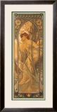 Reverie du Soir Framed Giclee Print by Alphonse Mucha