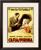 Cafiaspirina Pain Reliever Framed Giclee Print by Achille Luciano Mauzan