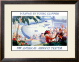 Pan American Flying Clipper Framed Giclee Print