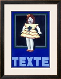Texte Laundry Detergent Soap Framed Giclee Print by Achille Luciano Mauzan