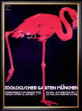 Zoologischer Garten, Munich Framed Giclee Print by Ludwig Hohlwein