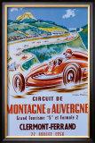 Montagne d'Auvergne Framed Giclee Print by Geo Ham