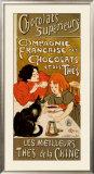 Chocolat Prints by Théophile Alexandre Steinlen
