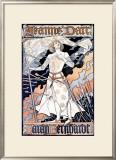Jeanne d'Arc, Sarah Bernhardt Framed Giclee Print by Eugene Grasset