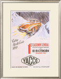 Rallye Monte Carlo, 1959 Posters by Geo Ham